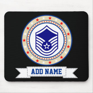 Air Force Master Sergeant E-7 MSgt Mouse Pad