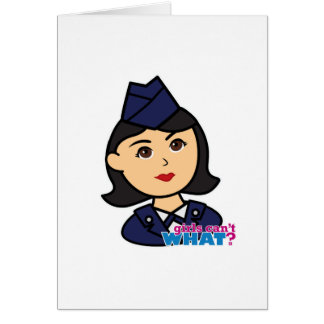 Air Force Medium Head Card