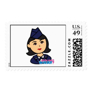 Air Force Medium Head Postage