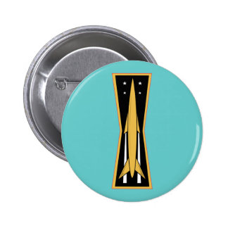 Air Force Missile Badge Button