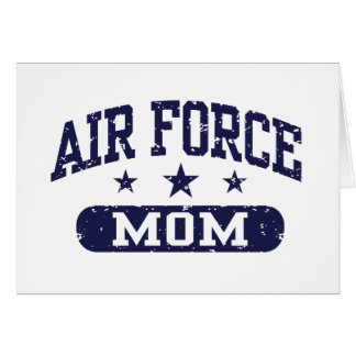 Air Force Mom Card
