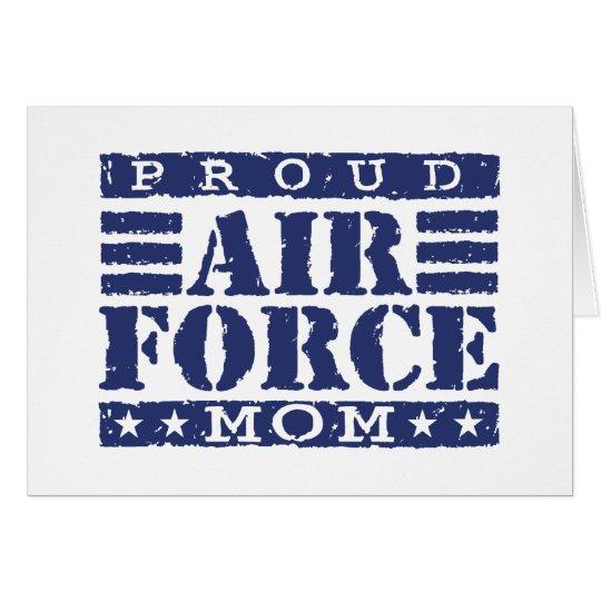 Air Force Mom Card