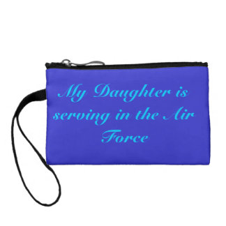 Air Force  Mom Coin Wallet
