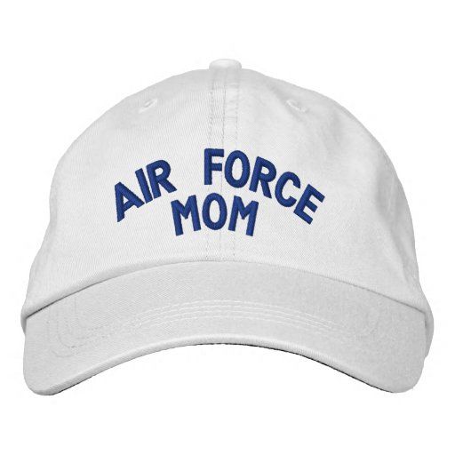 Air Force Mom Embroidered Baseball Caps