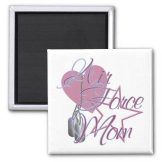 Air Force Mom Heart N Star Magnet