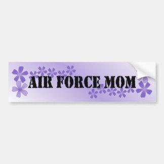 Air Force Mom Lilac Bumper Sticker