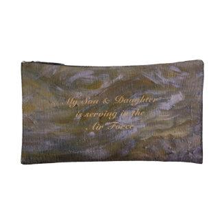 Air Force  Mom Makeup Bag