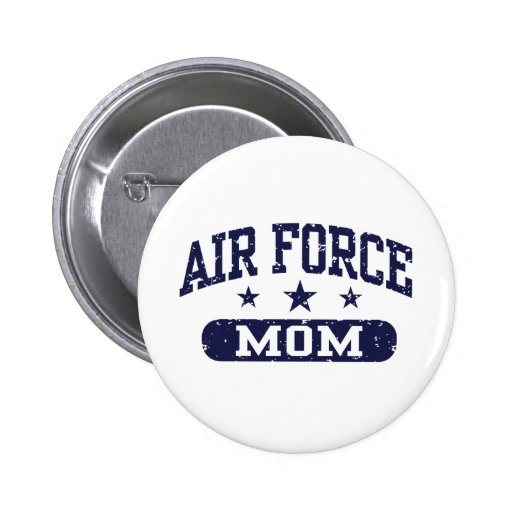 Air Force Mom Pinback Buttons