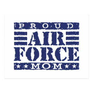 Air Force Mom Postcard