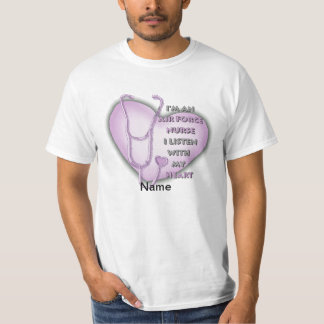 Air Force Nurse Purple Heart T-Shirt