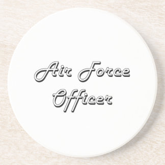 Air Force Officer Classic Job Design Coasters