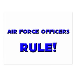 Air Force Officers Rule! Postcards