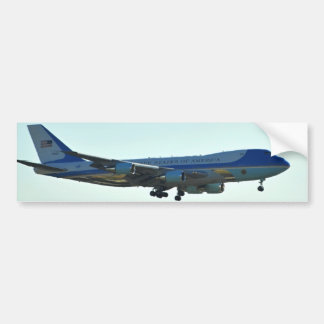 Air Force One Bumper Sticker Car Bumper Sticker