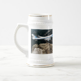 Air Force One Over Mount Rushmore Coffee Mug