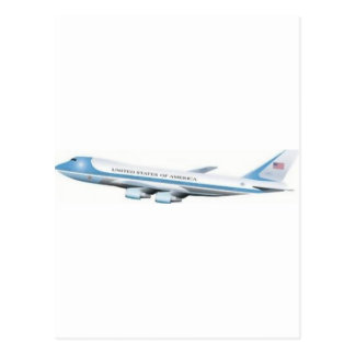 Air Force One Postcard