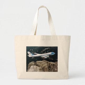 Air Force One sobre el monte Rushmore empaqueta Bolsa De Mano