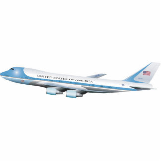 Air Force One Wall Mounted Photo Sculpture