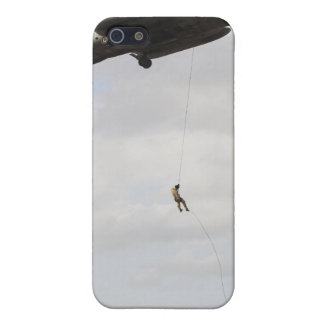 Air Force pararescuemen conduct a combat insert 2 Cover For iPhone SE/5/5s