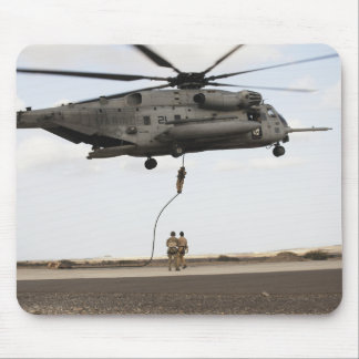 Air Force pararescuemen conduct a combat insert 3 Mouse Pad
