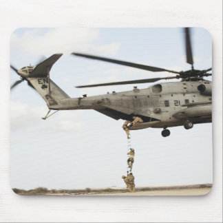 Air Force pararescuemen conduct a combat insert 4 Mouse Pad