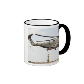 Air Force pararescuemen conduct a combat insert 4 Coffee Mugs