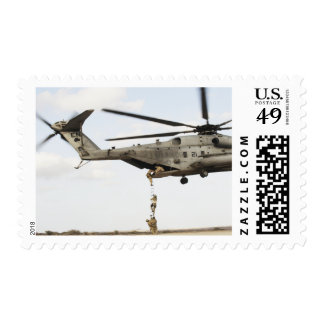 Air Force pararescuemen conduct a combat insert 4 Stamps