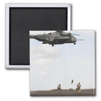 Air Force pararescuemen conduct a combat insert Magnet