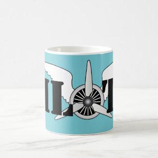 Air Force Pilot Aviation Themed Aircraft Propeller Coffee Mug