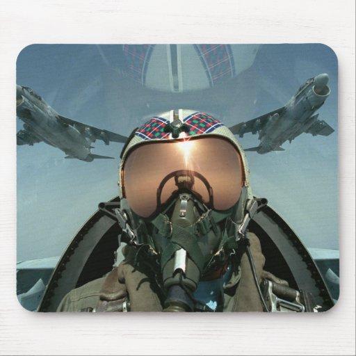 Air Force pilot Mouse Pad
