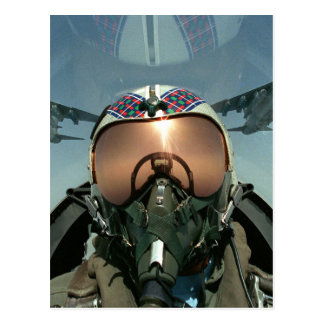 Air Force pilot Post Cards