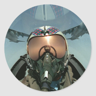 Air Force pilot Stickers
