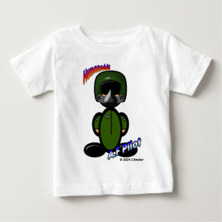 Air Force Pilot (with logos) Baby T-Shirt