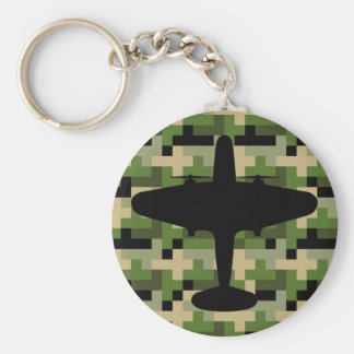 Air Force Plane Camouflage Keychain
