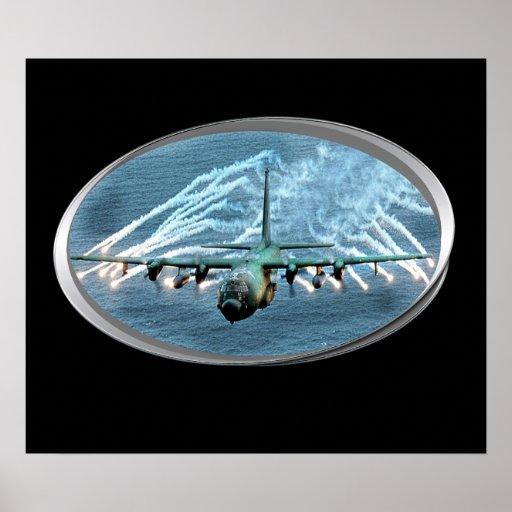air force plane laying down smoke print