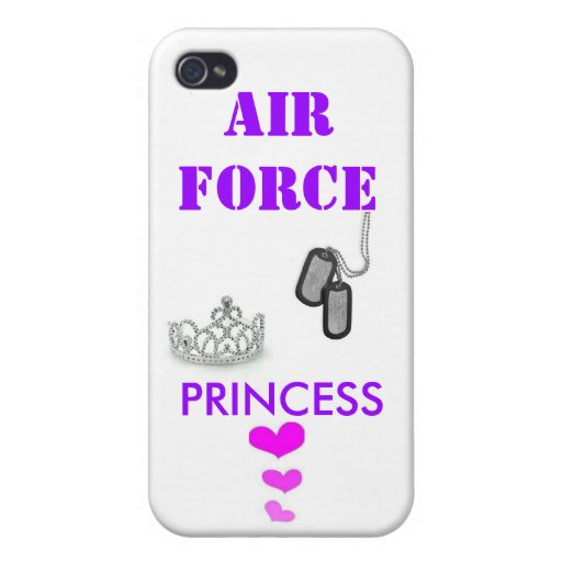 AIR FORCE PRINCESS iPhone 4 COVER