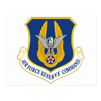 Air Force Reserve Command Postcard