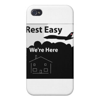 Air Force Rest Easy iPhone 4/4S Covers