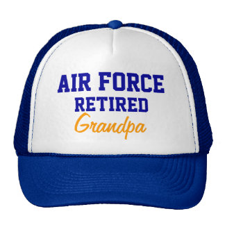 Air Force Retired grandpa cap Trucker Hat