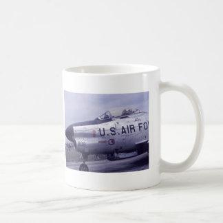 AIR FORCE SABRE JET F-86D COFFEE MUG