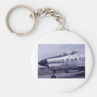 AIR FORCE SABRE JET F-86D KEY CHAIN