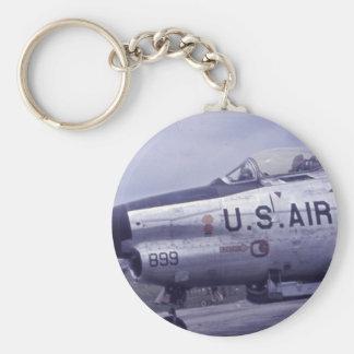 AIR FORCE SABRE JET F-86D KEY CHAINS