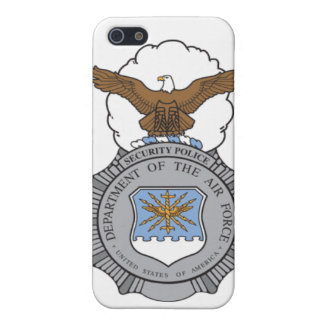 Air Force Security Police Badge Cases For iPhone 5