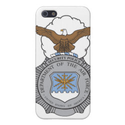Air Force Security Police Badge iPhone SE/5/5s Cover