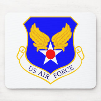 Air Force Shield Mouse Pad