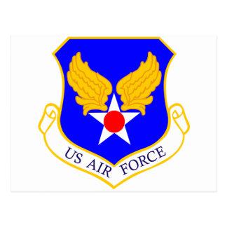 Air Force Shield Postcard