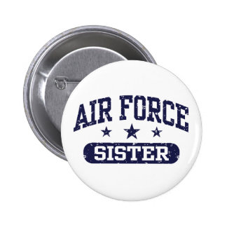 Air Force Sister 2 Inch Round Button