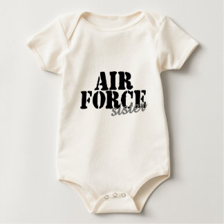 Air Force Sister Baby Bodysuit