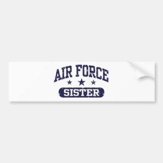 Air Force Sister Bumper Sticker