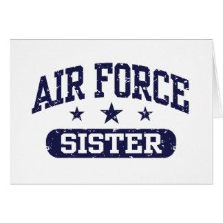 Air Force Sister Card