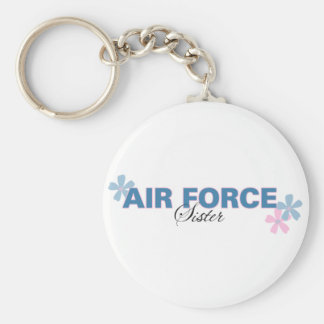 Air Force Sister Keychain